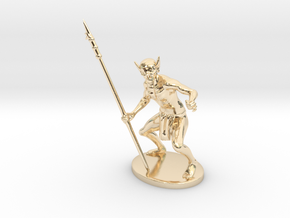 Ur-Vile Miniature in 14k Gold Plated: 1:60.96
