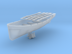 1/72 DKM 8m Long Boat in Smooth Fine Detail Plastic