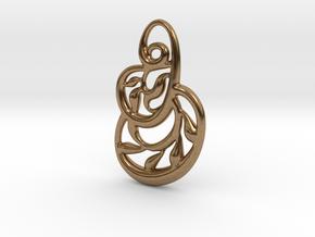 Kaleidoscope in Natural Brass