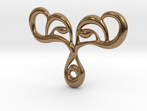 Drop of life in Natural Brass