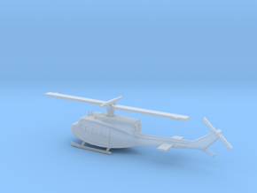 1/285 Scale UH-1J Model in Smooth Fine Detail Plastic