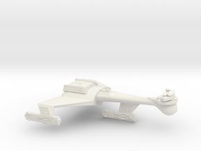 3788 Scale Romulan K9R Dreadnought WEM in White Natural Versatile Plastic