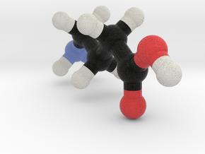 GABA Molecule Model in Full Color Sandstone: 1:10
