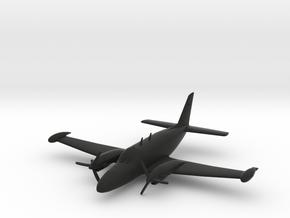 Piper PA-31T Cheyenne II in Black Natural Versatile Plastic