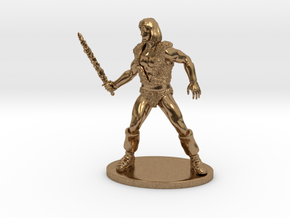 Thundarr the Barbarian Miniature in Natural Brass: 1:55