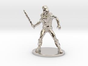 Thundarr the Barbarian Miniature in Platinum: 1:60.96