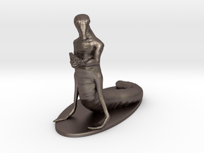 Sathar Miniature in Polished Bronzed Silver Steel: 1:60.96