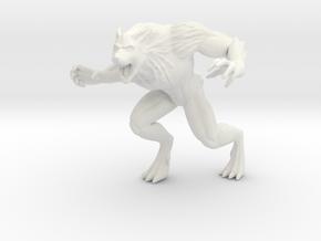 Ardius's Werewolf in White Natural Versatile Plastic
