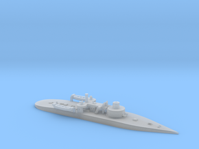 1/1200th scale SMS Leitha (1887) in Smooth Fine Detail Plastic