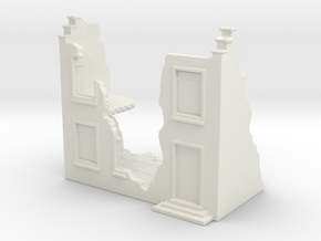 Home Ruin in White Natural Versatile Plastic