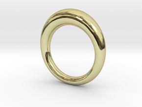 Standard Circle Ring in 18k Gold: 4 / 46.5