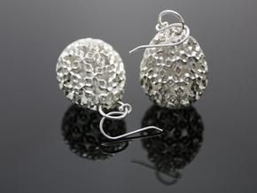 Jacopo Earrings - Silver  in Polished Silver