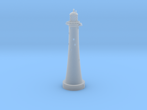 Eddystone Lighthouse 1:500 scale in Smooth Fine Detail Plastic