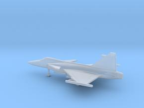 Saab JAS.39C Gripen in Smooth Fine Detail Plastic: 6mm