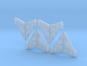 RearFins_4 in Smoothest Fine Detail Plastic