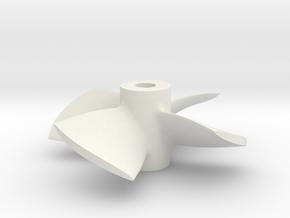 """1.25"""" - PKSP LH in White Natural Versatile Plastic"""