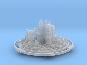 City in Smooth Fine Detail Plastic