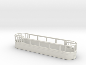 1:43 London Transport Rehab. ex Croydon E/1-Part 2 in White Natural Versatile Plastic
