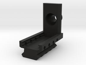 M87 Muzzle Adapter in Black Premium Versatile Plastic