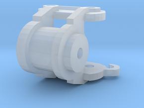 powertilt 75mm bovenstuk in Smooth Fine Detail Plastic