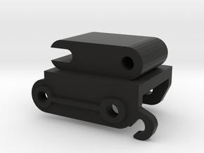 Snelkoppelling 7.5 mm in Black Natural Versatile Plastic