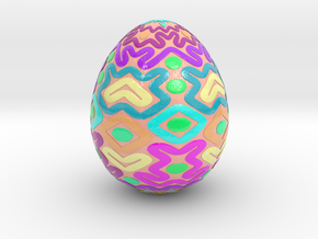 egg2 in Glossy Full Color Sandstone