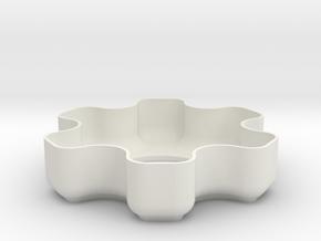 Kandao Lens-Cover MR02v3 in White Natural Versatile Plastic