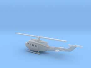1/87 Scale UH-1D Model  in Smooth Fine Detail Plastic