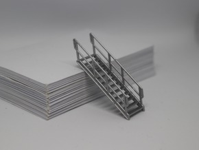 HO 3x Stairs #12 in Smooth Fine Detail Plastic