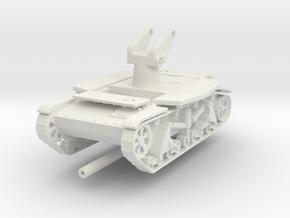 SU-6 fire position 1:72 in White Natural Versatile Plastic