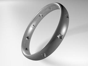 Starlet Ring in Stainless Steel