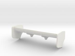 Aileron Mc Laren Gros appui_V2 in White Natural Versatile Plastic