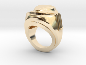HEART extrude in 14K Yellow Gold: 8 / 56.75