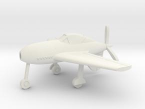 (1:144) Messerschmitt Me 334 in White Natural Versatile Plastic