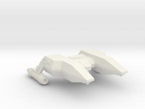 3125 Scale LDR Police Corvette (POL) CVN in White Natural Versatile Plastic