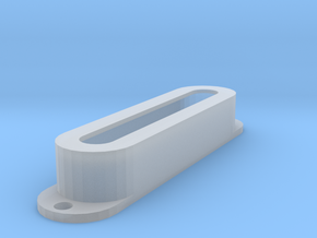 Strat PU Cover, Single, Open in Smooth Fine Detail Plastic