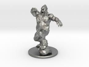Yeti Miniature in Natural Silver: 1:60.96