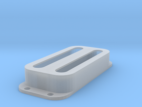 Strat PU Cover, Double, Open in Smooth Fine Detail Plastic