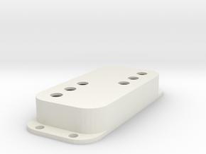 Strat PU Cover, Double, WR in White Premium Versatile Plastic