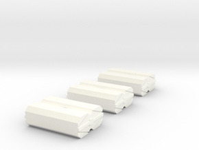 2500_federation_cargo_modules in White Strong & Flexible Polished