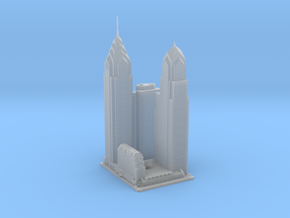 Liberty Place (1:1800) in Smooth Fine Detail Plastic