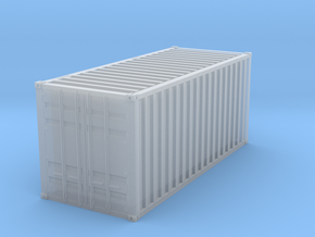 1CC Container scale 1/87 in Smooth Fine Detail Plastic