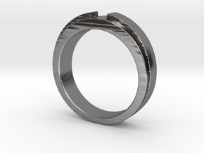 Engagement Ring Design - CC150-BL in Polished Silver