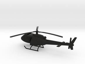 008K EC.350 Ecureuil 144 Polished  in Black Premium Versatile Plastic