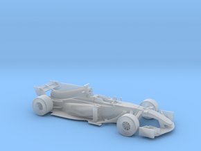 F1 2017 car 1/68 in Smooth Fine Detail Plastic