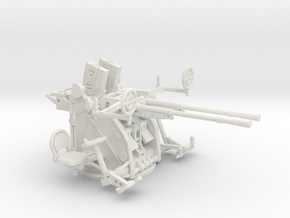 1/48 IJN Type 96 25mm Twin Mount in White Natural Versatile Plastic