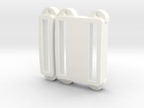 SG-3 Pickup cover set in White Processed Versatile Plastic