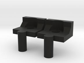 Mast. Repl. Anakin ROTS Box part 3/5 Black Piece in Black Natural Versatile Plastic