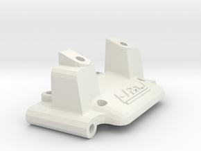 losi jrx2 front bulkhead  in White Natural Versatile Plastic
