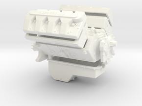 Boss 520 1/12 in White Processed Versatile Plastic